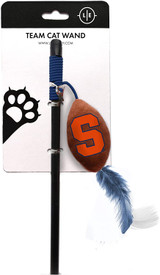 Syracuse Orange Cat Football Toy Wand Interactive Teaser