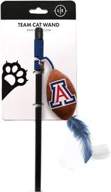 Arizona Wildcats Cat Football Toy Wand Interactive Teaser