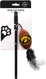 Iowa Hawkeyes Cat Football Toy Wand Interactive Teaser