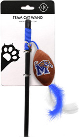 Memphis Tigers Cat Football Toy Wand Interactive Teaser