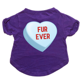 Furever Candy Heart Dog Cat T-Shirt Premium Tagless Tee