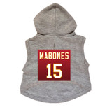 Mabones Dog Hoodie Premium Football Sweatshirt