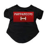 Puppaneers Football Dog T-Shirt Premium Tagless Tee