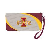 Iowa State Cyclones Curve Zip Organizer Wallet Wristlet