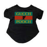Gucch Pooch Dog T-Shirt Premium Tagless Tee