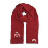 Ohio State Buckeyes Jimmy Bean Scarf 4 In 1 Handwarmer Beanie Pocket Unisex