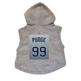 Pudge Dog Hoodie Premium Baseball Sweatshirt