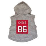 Chews Dog Hoodie Premium Hockey Sweatshirt