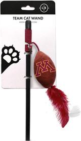 Minnesota Golden Gophers Cat Football Toy Wand Interactive Teaser
