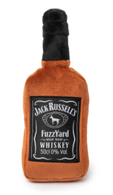Jack Russell's Whiskey Dog Toy Premium Plush Non Toxic