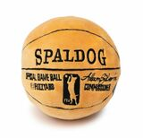 Spaldog Basketball Dog Toy Premium Plush w/ Squeaker Non Toxic