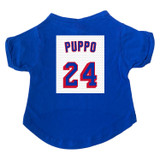 Puppo #24 Hockey Dog T-Shirt Premium Tagless Tee
