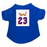 Foxy #23 Hockey Dog T-Shirt Premium Tagless Tee