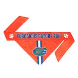 Florida Gators Dog Cat Tie Bandana Furocious Fan Reversible