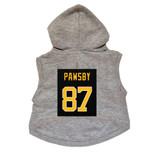 Pawsby #87 Dog Hoodie Premium Hockey Sweatshirt