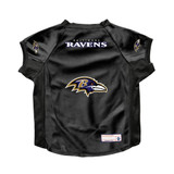 Baltimore Ravens Dog Deluxe Stretch Jersey Big Dog Size