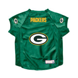 Green Bay Packers Dog Deluxe Stretch Jersey Big Dog Size