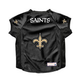 New Orleans Saints Dog Deluxe Stretch Jersey Big Dog Size
