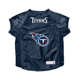 Tennessee Titans Dog Deluxe Stretch Jersey Big Dog Size