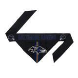 Baltimore Ravens Dog Cat Tie Bandana Reversible