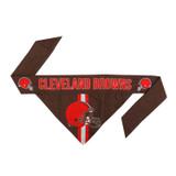 Cleveland Browns Dog Cat Tie Bandana Reversible