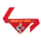 Kansas City Chiefs Dog Cat Tie Bandana Reversible
