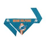 Miami Dolphins Dog Cat Tie Bandana Reversible