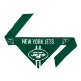 New York Jets Dog Cat Tie Bandana Reversible