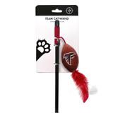 Atlanta Falcons Cat Football Toy Wand Interactive Teaser