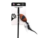 Carolina Panthers Cat Football Toy Wand Interactive Teaser