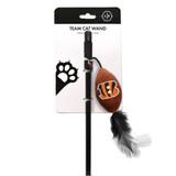 Cincinnati Bengals Cat Football Toy Wand Interactive Teaser