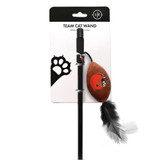 Cleveland Browns Cat Football Toy Wand Interactive Teaser