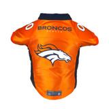 Denver Broncos Dog Cat Premium Jersey Dazzle Fabric