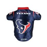 Houston Texans Dog Cat Premium Jersey Dazzle Fabric