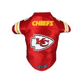 Kansas City Chiefs Dog Cat Premium Jersey Dazzle Fabric