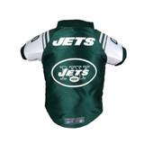 New York Jets Dog Cat Premium Jersey Dazzle Fabric