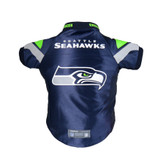 Seattle Seahawks Dog Cat Premium Jersey Dazzle Fabric