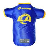 Los Angeles Rams Dog Cat Premium Jersey Dazzle Fabric