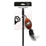 Philadelphia Eagles Cat Football Toy Wand Interactive Teaser