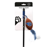 Tennessee Titans Cat Football Toy Wand Interactive Teaser