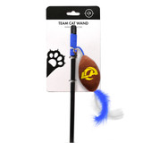 Los Angeles Rams Cat Football Toy Wand Interactive Teaser