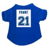 Pawnt #21 Hockey Dog T-Shirt Premium Tagless Tee