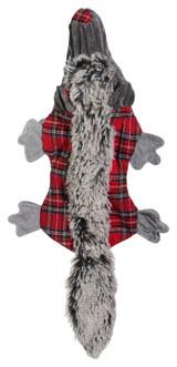 Otter Dog Toy Plush Buddy Flat Body w/ Crinkle