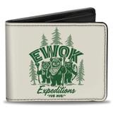 Ewok Expeditions Bi-Fold Wallet Star Wars Licensed
