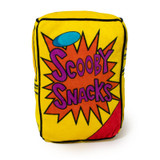 Scooby Doo Dog Toy Plush Scooby Snacks Box w/ Squeaker Licensed