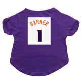 Barker #1 Basketball Dog T-Shirt Premium Tagless Tee