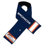 Denver Broncos Hero Jersey Scarf with Hidden Pocket