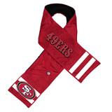 San Francisco 49ers Hero Jersey Scarf with Hidden Pocket