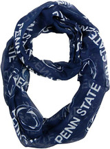Penn State Nittany Lions Sheer Infinity Fashion Scarf