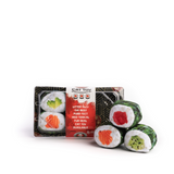 Sushi Roll Cat Toy 6pc In Tray Plush w/ North American Catnip